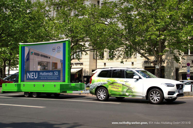 Mobile Werbung für die Koch Automobile AG